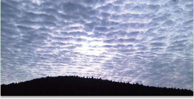 облака перисто слоистые фото
