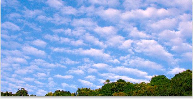 фото слоисто кучевые облака